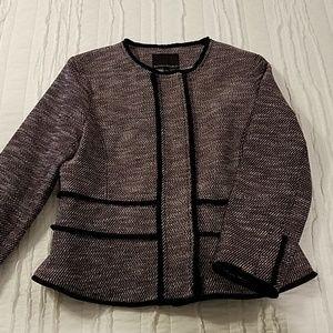 Banana Republic tweed blazer size 10